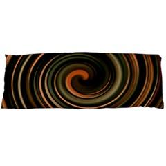 Strudel Spiral Eddy Background Body Pillow Case (dakimakura)