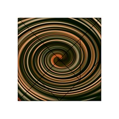 Strudel Spiral Eddy Background Acrylic Tangram Puzzle (4  x 4 )