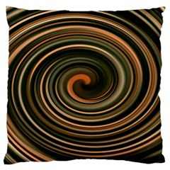 Strudel Spiral Eddy Background Large Cushion Case (one Side)