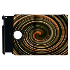 Strudel Spiral Eddy Background Apple Ipad 3/4 Flip 360 Case