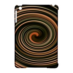 Strudel Spiral Eddy Background Apple Ipad Mini Hardshell Case (compatible With Smart Cover)