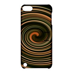 Strudel Spiral Eddy Background Apple Ipod Touch 5 Hardshell Case With Stand