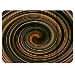 Strudel Spiral Eddy Background Samsung Galaxy Tab 7  P1000 Flip Case