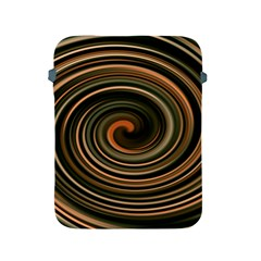 Strudel Spiral Eddy Background Apple Ipad 2/3/4 Protective Soft Cases