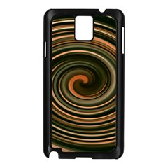 Strudel Spiral Eddy Background Samsung Galaxy Note 3 N9005 Case (black)