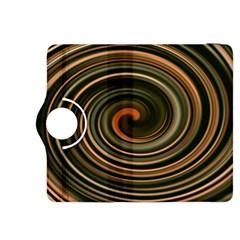 Strudel Spiral Eddy Background Kindle Fire HDX 8.9  Flip 360 Case