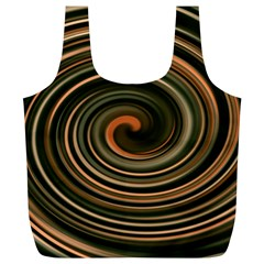 Strudel Spiral Eddy Background Full Print Recycle Bags (l)