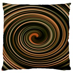 Strudel Spiral Eddy Background Large Flano Cushion Case (two Sides)