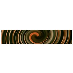 Strudel Spiral Eddy Background Flano Scarf (Small)