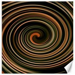 Strudel Spiral Eddy Background Canvas 20  x 20