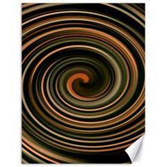 Strudel Spiral Eddy Background Canvas 18  X 24
