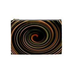 Strudel Spiral Eddy Background Cosmetic Bag (Medium)