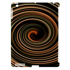 Strudel Spiral Eddy Background Apple Ipad 3/4 Hardshell Case (compatible With Smart Cover)