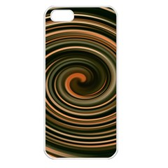 Strudel Spiral Eddy Background Apple Iphone 5 Seamless Case (white)