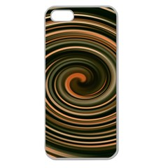 Strudel Spiral Eddy Background Apple Seamless iPhone 5 Case (Clear)