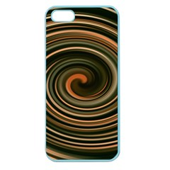Strudel Spiral Eddy Background Apple Seamless Iphone 5 Case (color)