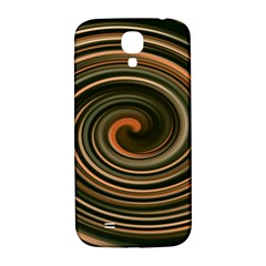 Strudel Spiral Eddy Background Samsung Galaxy S4 I9500/i9505  Hardshell Back Case