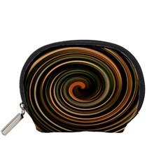 Strudel Spiral Eddy Background Accessory Pouches (Small)
