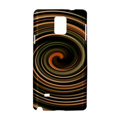 Strudel Spiral Eddy Background Samsung Galaxy Note 4 Hardshell Case