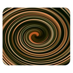 Strudel Spiral Eddy Background Double Sided Flano Blanket (small)