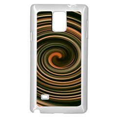 Strudel Spiral Eddy Background Samsung Galaxy Note 4 Case (white)