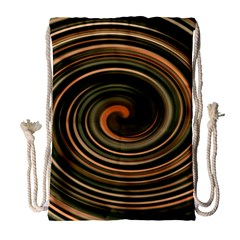 Strudel Spiral Eddy Background Drawstring Bag (large)