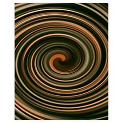 Strudel Spiral Eddy Background Drawstring Bag (small)