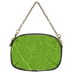 Green Leaf Line Chain Purses (Two Sides)
