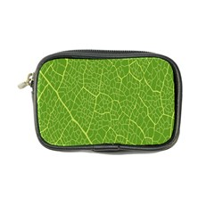 Green Leaf Line Coin Purse