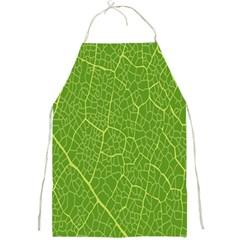 Green Leaf Line Full Print Aprons