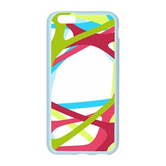Nets Network Green Red Blue Line Apple Seamless iPhone 6/6S Case (Color)