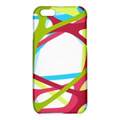 Nets Network Green Red Blue Line iPhone 6/6S TPU Case