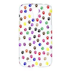 Paw Prints Dog Cat Color Rainbow Animals Samsung Galaxy S4 I9500/I9505 Hardshell Case