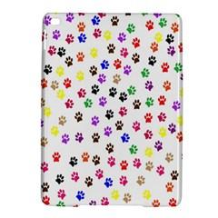 Paw Prints Dog Cat Color Rainbow Animals iPad Air 2 Hardshell Cases