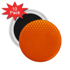 Orange Star Space 2.25  Magnets (10 pack)