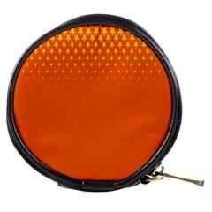 Orange Star Space Mini Makeup Bags