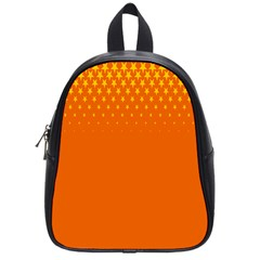 Orange Star Space School Bags (Small)
