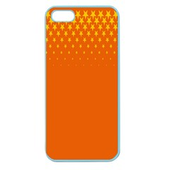 Orange Star Space Apple Seamless iPhone 5 Case (Color)