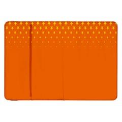 Orange Star Space Samsung Galaxy Tab 8.9  P7300 Flip Case