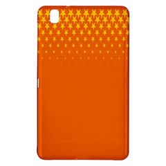 Orange Star Space Samsung Galaxy Tab Pro 8.4 Hardshell Case