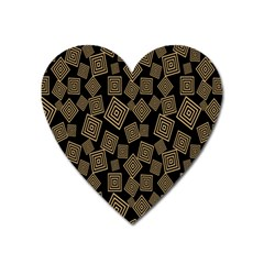 Magic Sleight Plaid Heart Magnet