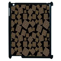 Magic Sleight Plaid Apple iPad 2 Case (Black)