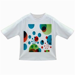 Polka Dot Circle Red Blue Green Infant/Toddler T-Shirts