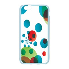 Polka Dot Circle Red Blue Green Apple Seamless iPhone 6/6S Case (Color)