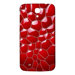 Plaid Iron Red Line Light Samsung Galaxy Mega I9200 Hardshell Back Case