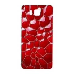 Plaid Iron Red Line Light Samsung Galaxy Alpha Hardshell Back Case
