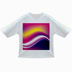 Rainbow Space Red Pink Purple Blue Yellow White Star Infant/Toddler T-Shirts