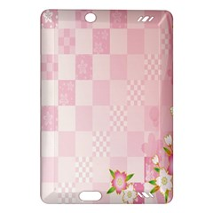 Sakura Flower Floral Pink Star Plaid Wave Chevron Amazon Kindle Fire HD (2013) Hardshell Case