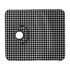Plaid Black White Line Galaxy S3 (Flip/Folio)
