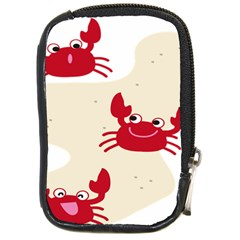 Sand Animals Red Crab Compact Camera Cases